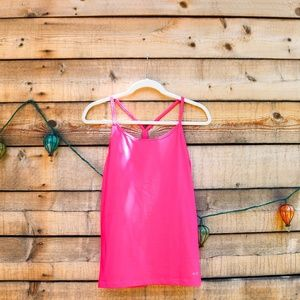 Champion Tops - Neon hot pink Champion workout tank top
